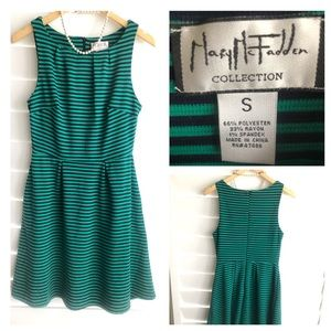 Mary McFadden🌸Stripe dress